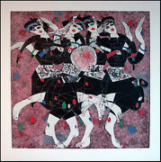 Tie Feng Jiang Moonlight Dance Serigraph On Paper Hand Signed Make An Offer