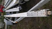 17 Foot 7 Inch Vintage Wood Boom Has Bronze + Stainless Hardware And Harken Track