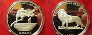 2003 Congo Largeproof Silver 10 Fr Olympic Hurdles/lion