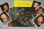 Circa Survive Autographed Poster And Photos- Real Collectible