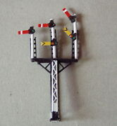 Pandd Marsh N Gauge N Scale X325 Lms Triple Arm Signal Painted And Finished