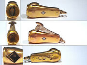 Solid 10k Yellow Gold And Diamond Cigar Cutter