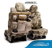 New A-tacs Arid / Urban Camo Camouflage Seat Covers W/molle System / 5102062-36