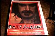Baby Snakes Rolled 27x41 Orig Movie Poster And03979 Frank Zappa Mothers Of Invention