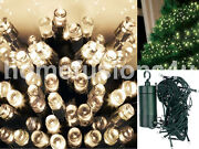 Christmas 400/600 Led Warm White Auto Timer String Fairy Lights Indoor Outdoor