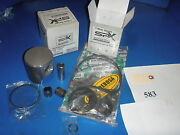 Skidoo Rotax 583 Engine Rebuild Kit Pistons/rings/pins/clips And Gaskets Std