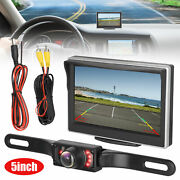 5and039and039 Ir Backup Camera Monitor Hd Car Auto Rear View Parking System Night Vision