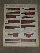 1940 Canvas And Leather Gun Cases Shell Bags Belts Price List Ad Catalog Page