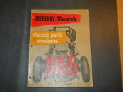 1955 Mercury And Monarch Chassis And Accessories Parts Catalog Book Ford Of Canada