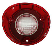 New Trim Parts Back Up Light Lamp Lens Rh / For 1972 Chevelle Ss Malibu / A4427