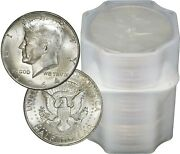 Full Dates Roll Of 20 10 Face Value 90 Silver 1964 Kennedy Half Dollars