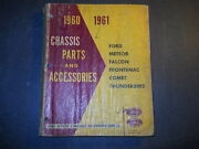 1960 1961 Ford Meteor Falcon Frontenac Chassis Parts Catalog Ford Of Canada