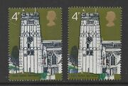 1972 Village Churches. Sg905b. 4d Violet Omitted Error. Unmounted Mint. Cat Andpound280
