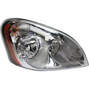 Headlight For 2008 2009 2010-2015 Freightliner Cascadia 125 Right With Bulb