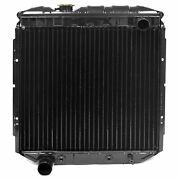 Acp Radiator 65 66 Mustang V8 5.0 Convert, Lh Outlet - Copper 3 Row Large Tube