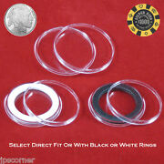 Air-tite 39mm Coin Holder Capsules For 1oz Silver Bullion Rounds And Casino Chips