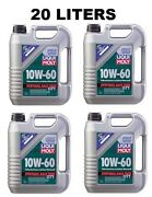 Fits Bmw M3 M5 Z4 20l Set Of 4 Engine Oil 10w-60 Fully Synthetic Race Tech 2024