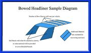 1941 Cadillac Series 62 Headliner - 3 Different Versions