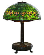 Pomegranate Leaded Table Lamp
