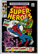 Marvel Super-heroes 14 6.0 Spider-man Off-white To White Pages Silver Age