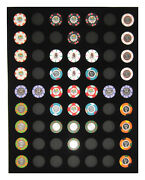 Chip Insert 63 Casino Chips Display Board 16 X 20 Holds 63 Chips New Item