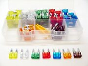 121 Mini Blade Fuses Assortment Kit 5-30 Amps Fits Porsche Wire Harness Stereo