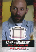 Sons Of Anarchy Season 4 And 5 Wardrobe Costume Card W16 Michael Ornstein As Chuck
