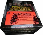 Star Trek Tng Heroes And Villains Factory Sealed Archive Box With All Autographs