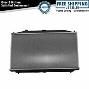 Radiator Assembly Aluminum Core Direct Fit For Honda Accord 2.4l New
