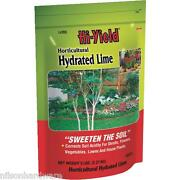 6 Pack Hi-yield 5 Plant Bedding Garden Flower Bed Hydrated Lime 33371