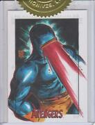The Avengers Silver Age - Dealer Incentive 6-case Sketch Card By Melike Acar 3
