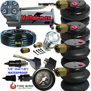 V 480c Air Compressor Ride 200psi Rate As Pictured 2 25/26 Airspring Bags Gaug