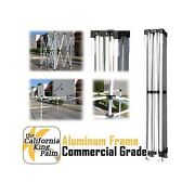 California King Palm Commercial Grade Aluminum Frame- Various Sizes And Colors