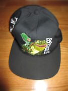 Vintage Budweiser This Bud's For You Lizzard And Frog Beer Snap Back Cap