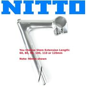 Classic Nitto Premium Np Quill Stem 26.0mm X 1 Formerly Pearl Fits 1 Fork