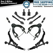 Front Ball Joint Control Arm Tie Rod Sway Bar Suspension Kit For 92-95 Civic