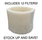 Humidifier Filter Replacement For Sunbeam Holmes Type D 12-pack