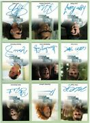 Under The Dome Master Set With 25 Autograph Cards
