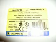 Square D 9065 Spc6 Solid State Overload Relay Motor Logic Plus