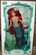 Lot Of 2 Disney Deluxe Ariel And Ursula Dolls Limited Edition Sold Out