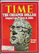 Time Magazine February 26 1973- The Cheaper Dollar- Impact On Prices And Jobs