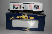 Lionel Gilbert American Flyer 6-48327 1997 Christmas Boxcar Excellent 3