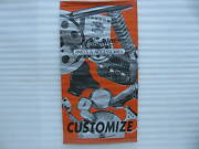 Harley-davidson Genuine Parts And Accessories Banner Poster Sign Display 758