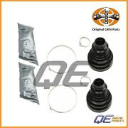 2 Front Cv Joint Boot Kits Gkn/loebro 305061 For Audi A4 A5 A6 A7 A8 S4 Q5