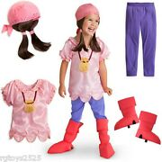 Jake And The Neverland Pirates Izzy Disney Exclusive Costume Sz 5-6 S New Small
