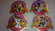 Disney Dlp Pin Trading Night - Frozen Anna Elsa Sven And Olaf All Four Le 400 Wow