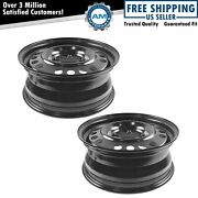 Dorman 16 Inch Steel Replacement Wheel Pair For 06-12 Equinox Impala Monte