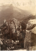 Gribble, Paarl, South African, Valley Of Desolation Vintage Citrate Print. Afri