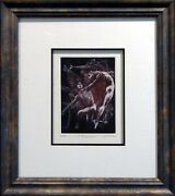 G.h Rothe Preview Hand Signed Limited Edition Mezzotint Art Submit Offer