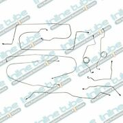 1977 F250 Highboy Ford Truck Complete Brake Line Set Kit Long 4wd Power Disc Ss